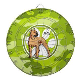 Pitbull de Brown; camo verde claro, camuflaje