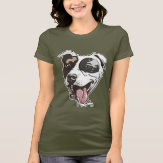 Pitbull design by Mudge Studios T-Shirt