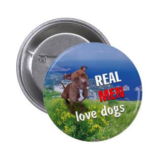 Pitbull Dog 2 Inch Round Button