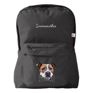 Pitbull Dog American Apparel™ Backpack