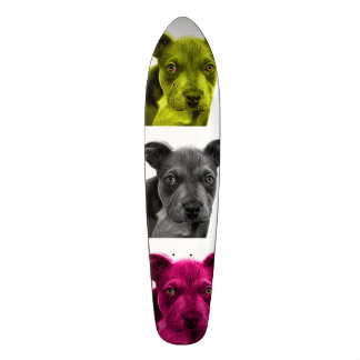 pitbull dog art 0785 skateboard deck