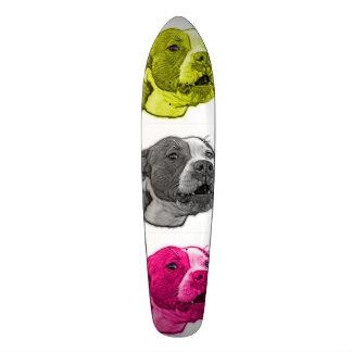 pitbull dog art 7769 WB Skateboard Deck