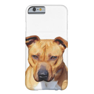 Pitbull dog barely there iPhone 6 case