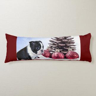 Pitbull dog body pillow