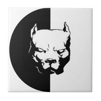 Pitbull Dog Ceramic Tile