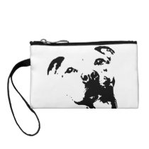Pitbull Dog Change Purse