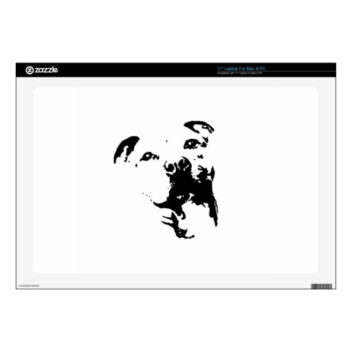 Pitbull Dog Decals For Laptops
