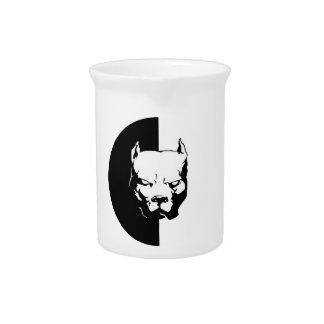 Pitbull Dog Drink Pitcher