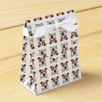 Pitbull dog favor box