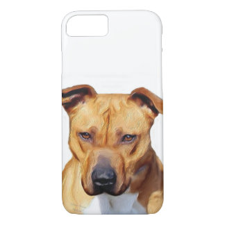 Pitbull dog iPhone 8/7 case