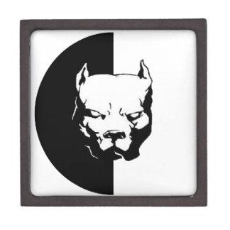 Pitbull Dog Keepsake Box