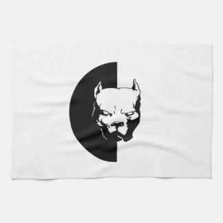 Pitbull Dog Kitchen Towels