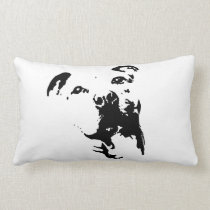 Pitbull Dog Lumbar Pillow