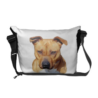 Pitbull dog courier bags