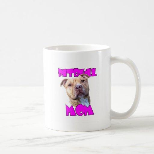 Pitbull dog Mom Coffee Mug