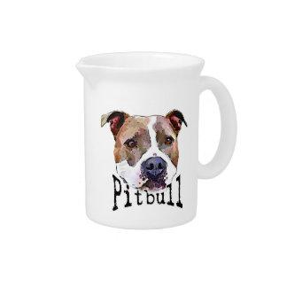 Pitbull Dog Pitcher