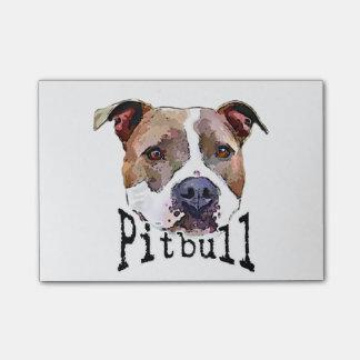 Pitbull dog post-it® notes
