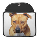 Pitbull dog sleeves for MacBook pro