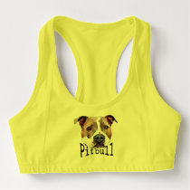 Pitbull Dog Sports Bra