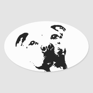 Pitbull Dog Stickers