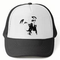 Pitbull Dog Trucker Hat