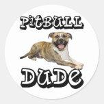 PitBull DUDE - Tigger Sticker
