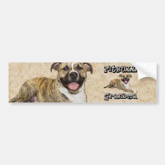 PitBull Grandma - Tigger Bumper Sticker