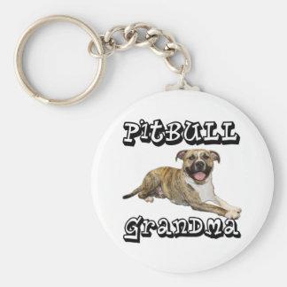 PitBull Grandma - Tigger Keychain