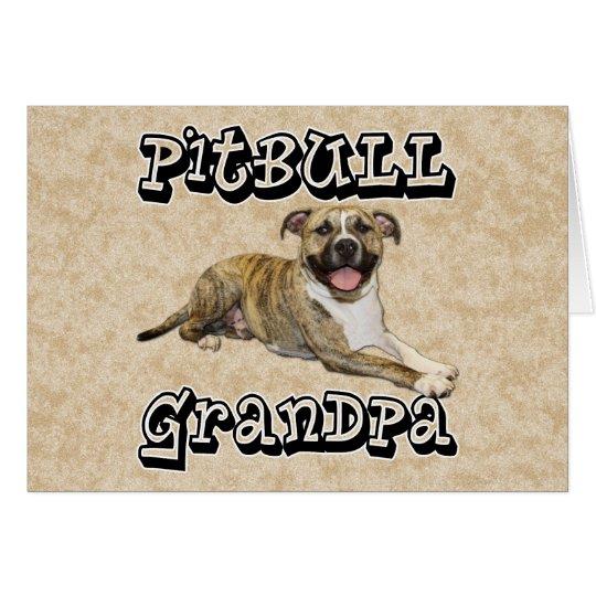 PitBull Grandpa - Tigger Card