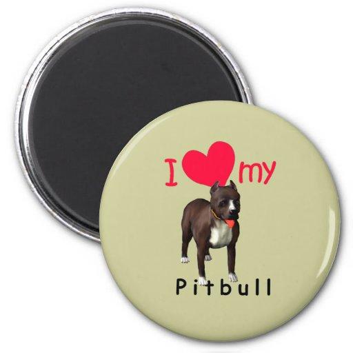Pitbull Iman De Frigorífico