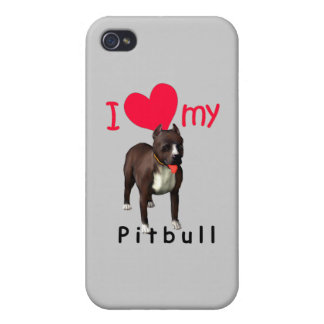 Pitbull iPhone 4 Covers