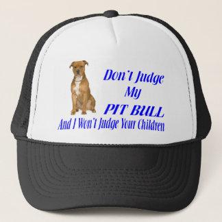 PITBULL JUDGEMENT TRUCKER HAT