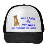 PITBULL JUDGEMENT TRUCKER HATS