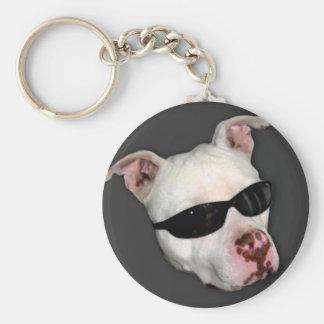 Pitbull keychain