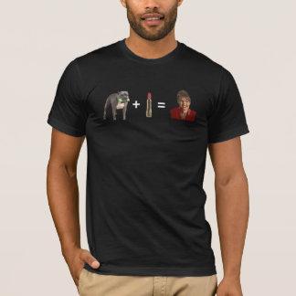 Pitbull + La camiseta de los hombres oscuros del