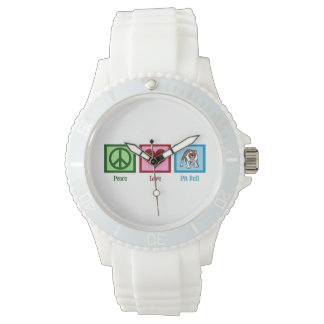 Pitbull lindo relojes