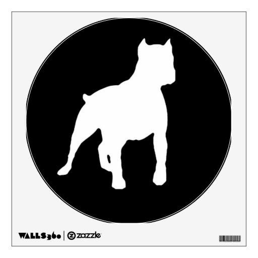 Pitbull Logo - American Pitbull Terrier Wall DecalAmerican Pitbull Logo