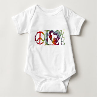 PITBULL LOVE BABY BODYSUIT