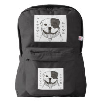 Pitbull Love Backpack