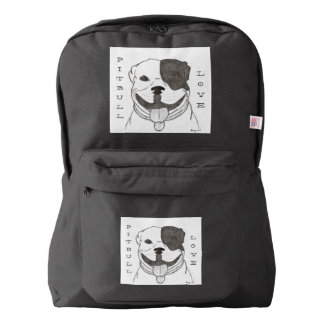 Pitbull Love Backpack