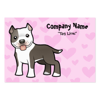 Pitbull Love Business Card Template