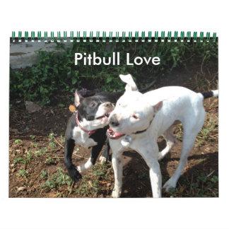 Pitbull Love Calendar