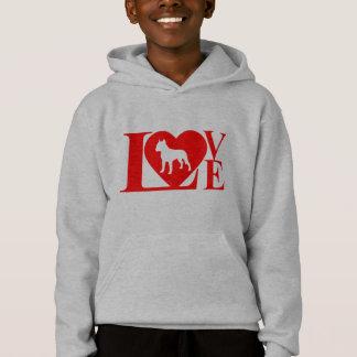 PITBULL LOVE HOODIE