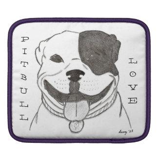 Pitbull Love iPad Sleeve