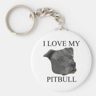 PITBULL Love! Key Chain