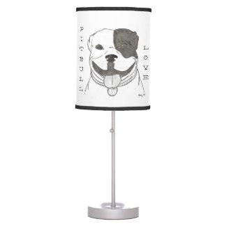 Pitbull Love Lamp