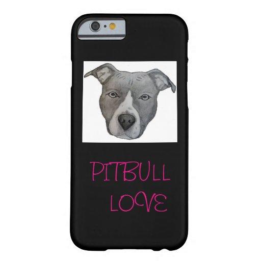 PITBULL LOVE PHONE COVER : Zazzle