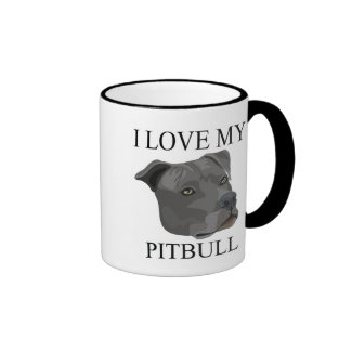 PITBULL Love! Ringer Mug
