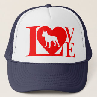 PITBULL LOVE TRUCKER HAT