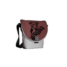 Pitbull Messenger Bag at Zazzle